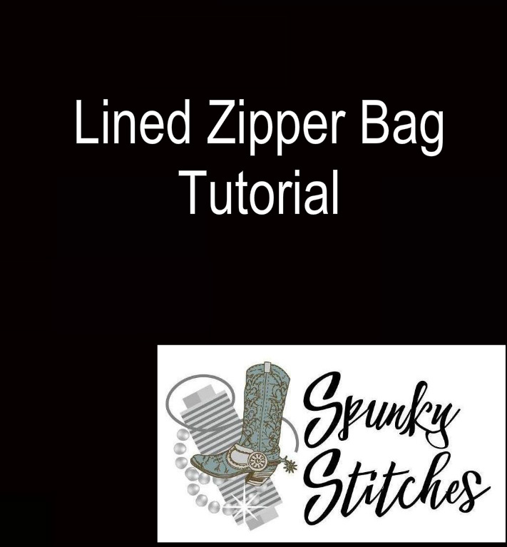 Lined Zipper Bag Tutorial