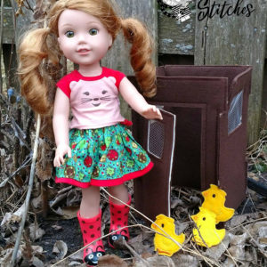 14in doll (wellie wisher)