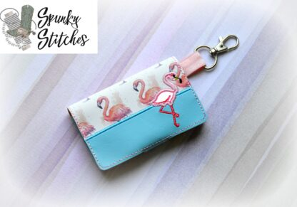 Mini Wallet in the hoop Embroidery file By Spunky stitches