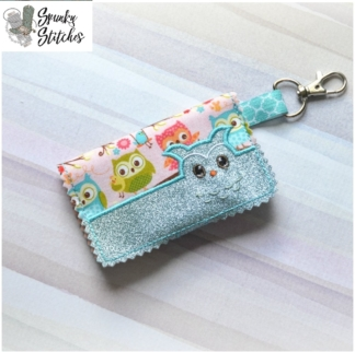 Key Fob in the hoop Embroidery file By Spunky stitches