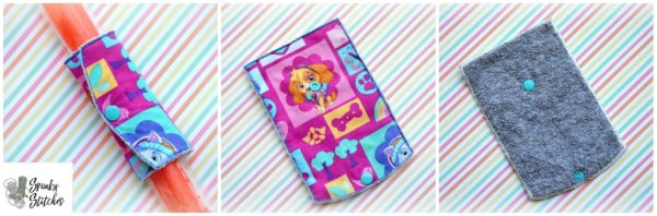 popsicle wrap holder in the hoop embroidery file by spunkystitches