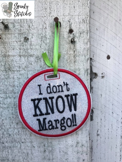 margo ornament in the hoop embroidery file by spunky stitches.
