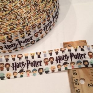Ribbon 1 inch - Harry Potter Characters